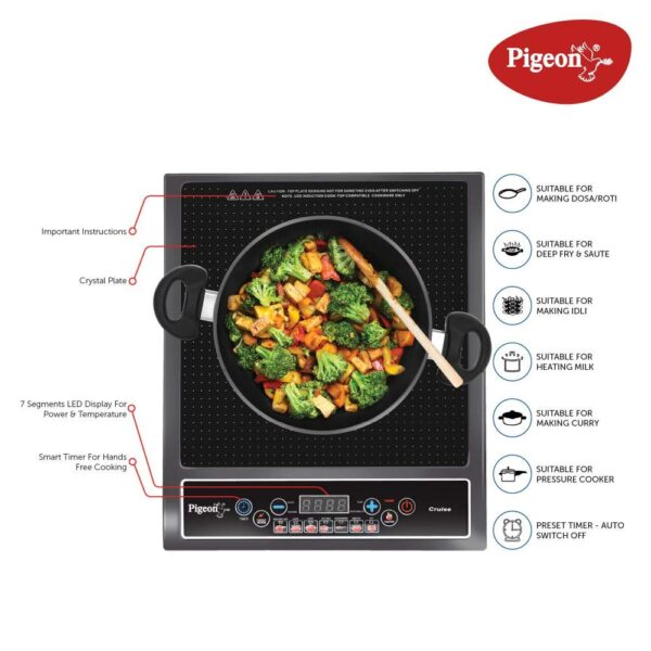Induction Stove Features