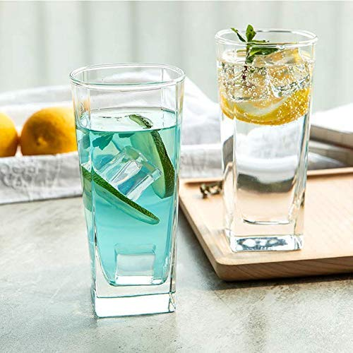 glasses ideal for serving juices