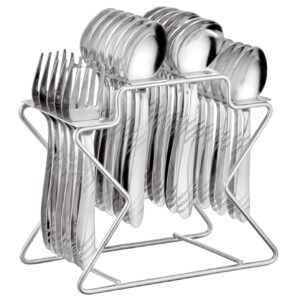 25 pieces spoon, forks set