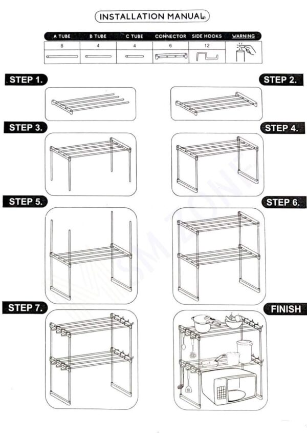 steps to fix the stand