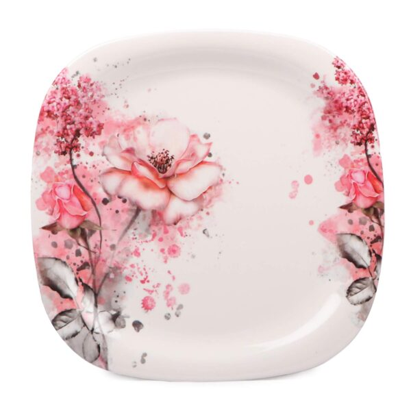 top view of the plate